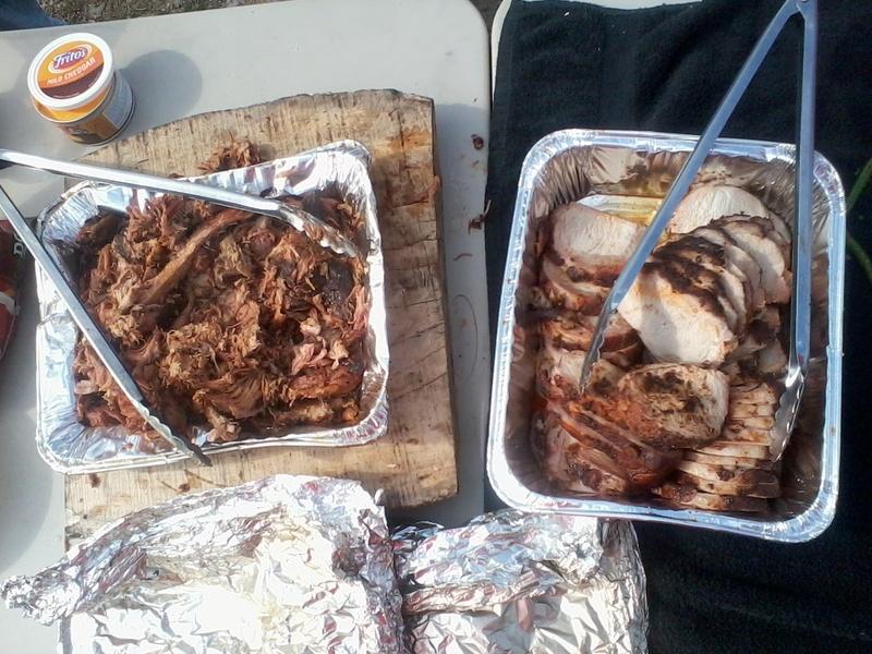 Pulled Pork and Pork Loin