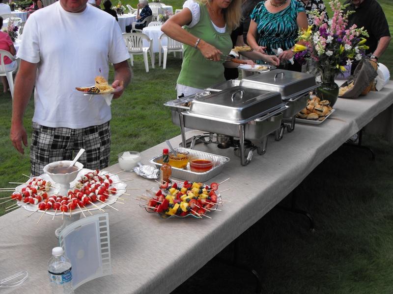 50thwedding annaversary food